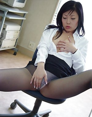 Asians In Pantyhose 9