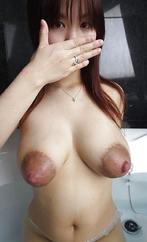 Big tits on asian