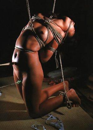 Shit glam tight bondage pornstar