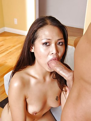 Busty Asian Blow Job 119