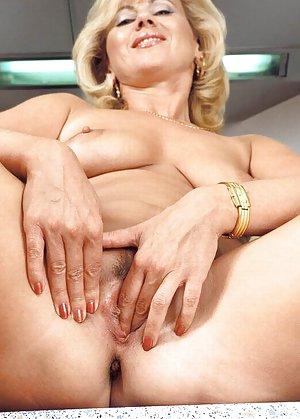 Busty milf masturbating