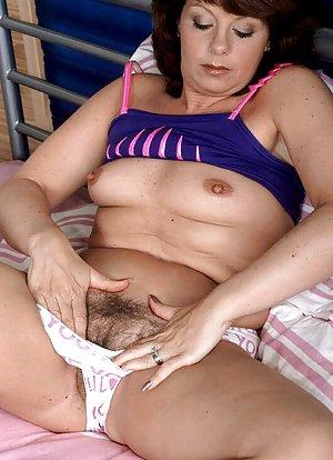 image Hairy mom masturbating in bath tube
