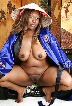 Ebony In Uniform 81