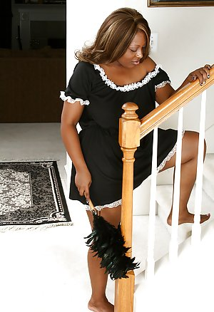 Ebony In Uniform 54