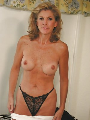 Red milf kitchen