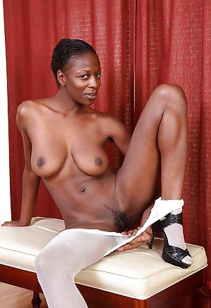 Ebony Pantyhose 112