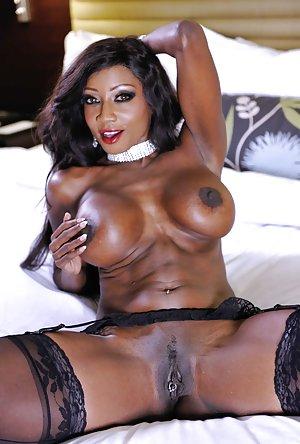 Ebony Anal Thumbs 52