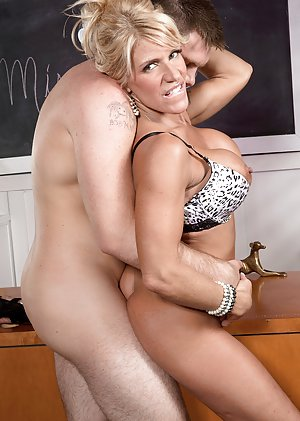 Naked milf teacher
