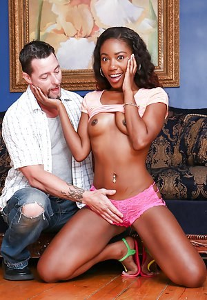 Chanell heart and jenna foxx take big white dick 2