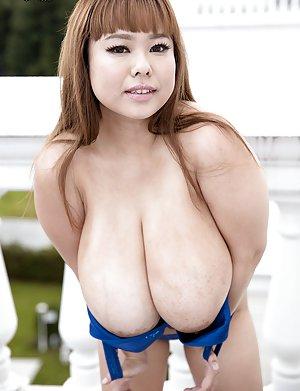 Big tits old lady