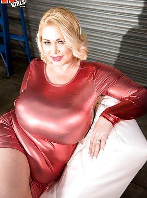 latex big boobs