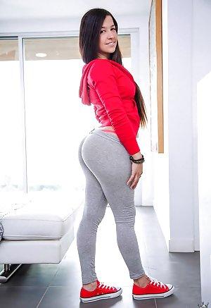 mature redheads big ass yoga pants